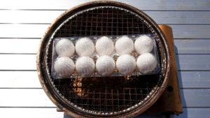 燻製たまご用の生卵