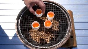 燻製たまごの作り方