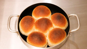 燻製ちぎりパン