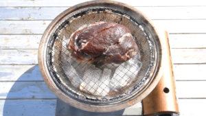 イノシシもも肉冷燻