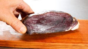 イノシシ肉完成