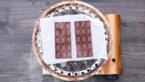 チョコレートの冷燻