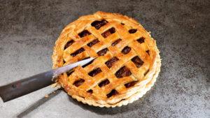 燻製アップルパイの作り方