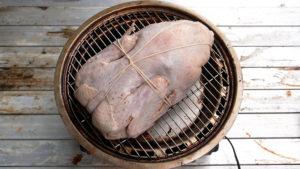 合鴨丸鶏燻製の作り方
