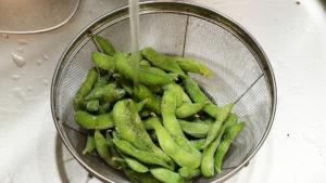 冷凍枝豆の作り方