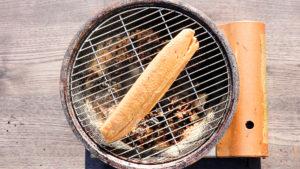 鰹の刺身を燻製